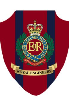Royal Engineers Plain Plaque